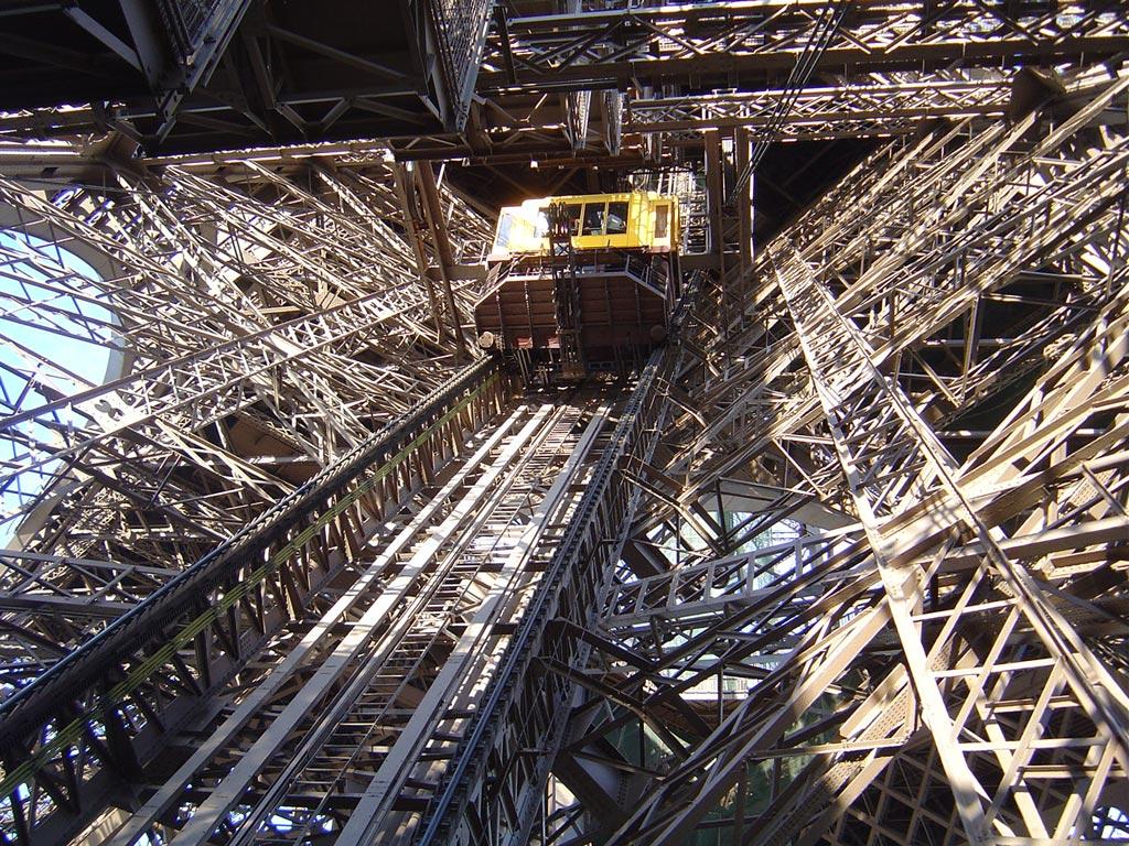 Ascensori sulla Torre Eiffel