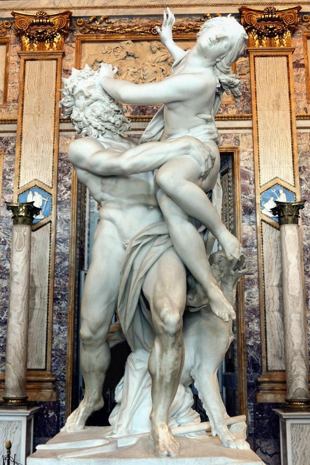 Il ratto di Proserpina, Gian Lorenzo Bernini