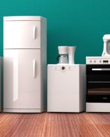 Elettrodomestici - frigo, lavatrice, cucina e così via