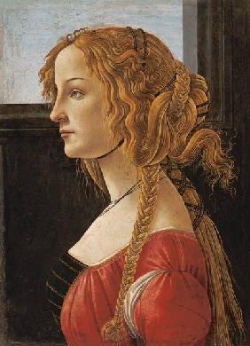 Ritratto di Simonetta Vespucci, Sandro Botticelli