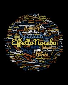 Effetto nocebo - Copertina - Word cloud