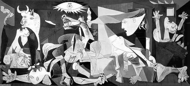 """ALT=""""Guernica - Pablo Picasso"""""""