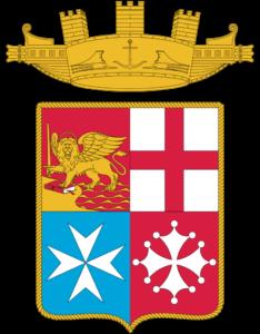 Repubbliche Marinare nello scudo della Marina Militare Italiana