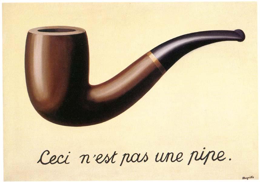 """ALT=""""La Trahison des images Magritte"""""""
