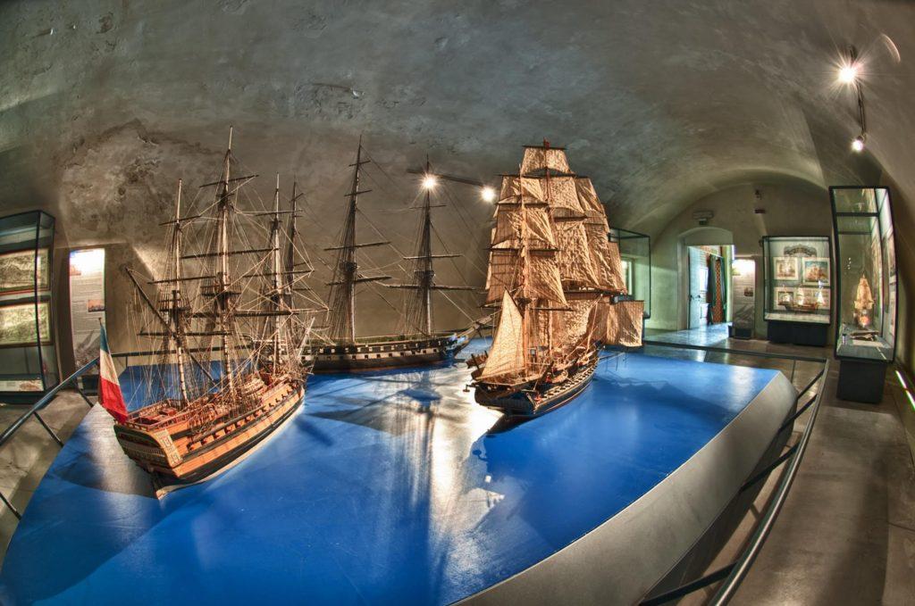 Galata Museo del Mare: la sala dei velieri