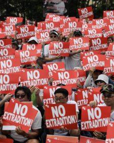 Hong Kong proteste estradizone