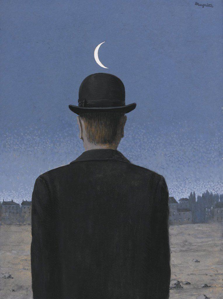 """ALT=""""Le Maitre d'école Magritte"""""""