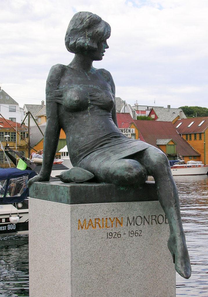 Statua di Marilyn Monroe (Haugesund).