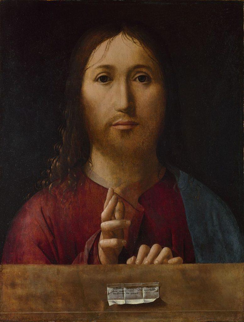 Salvador Mundi Antonello da Messina