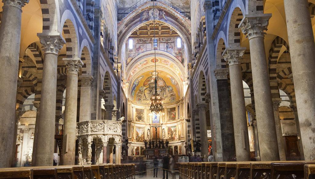 Duomo di Pisa interno