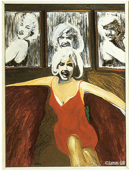 Marilyn Triptych, James Gill, 1962 (parte sinistra dell'opera)