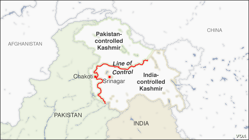 Kashmir - India - Pakistan