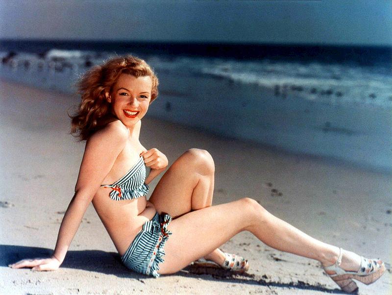 Norma Jeane Baker era un'icona degli anni '50 nota come Marilyn Monroe