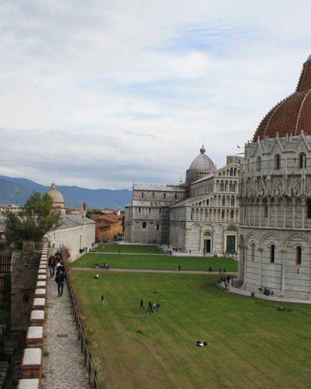 Mura di Pisa copertina