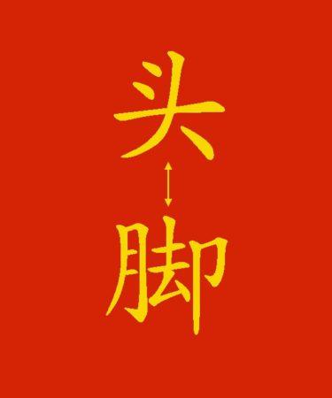 Parti del corpo in cinese