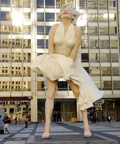 Forever Marilyn, Seward Johnson, Chicago (USA)
