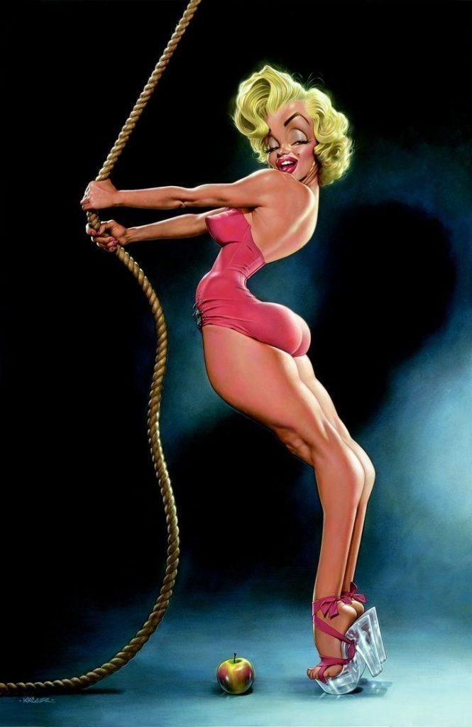 Marilyn Monroe, Sebastian Kruger