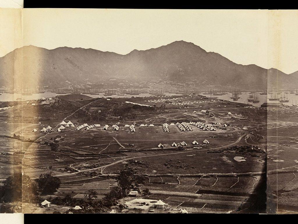 Kowloon nel 1860