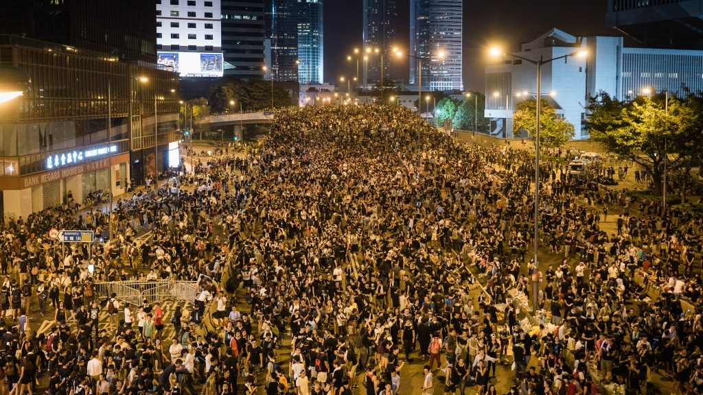 Rivoluzione degli ombrelli a Hong Kong