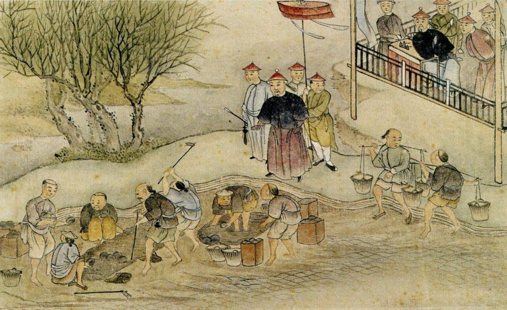 Distruzione dell'oppio a Canton