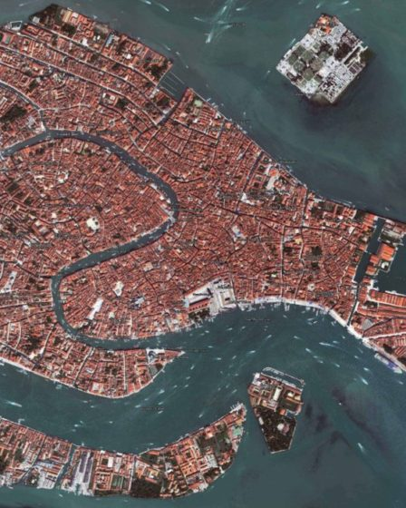 Sestieri: Venezia veduta aerea