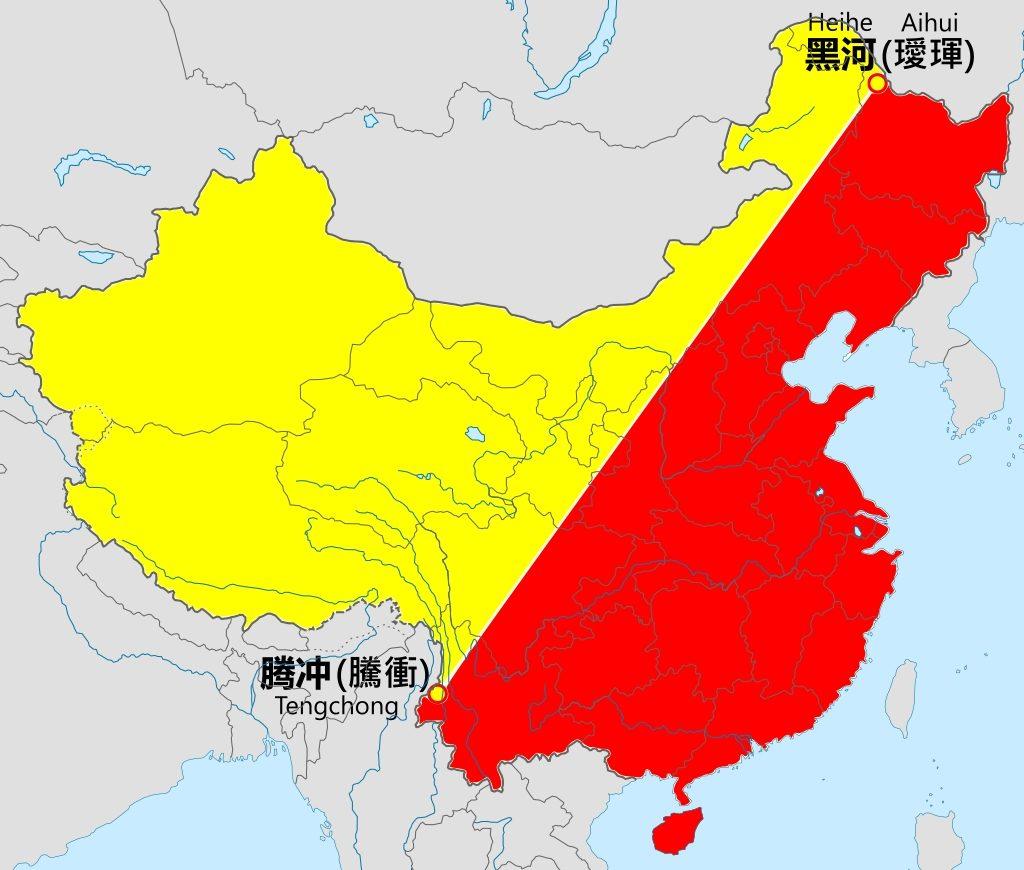 Distribuzione della popolazione in Cina