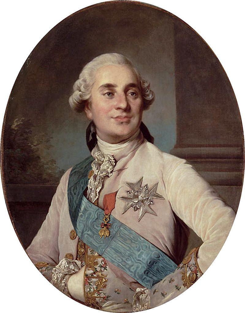 Ritratto ufficiale di Luigi XVI.