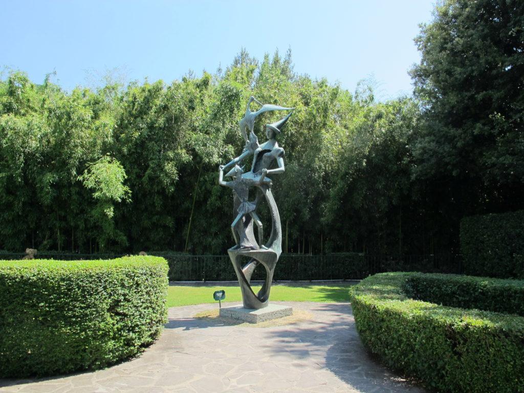 Omaggi artistici alla letteratura - La statua di Pinocchio nell'omonimo parco.