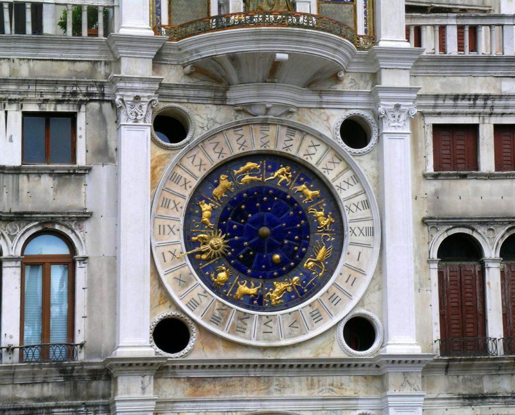 Torre dell'Orologio dettaglio