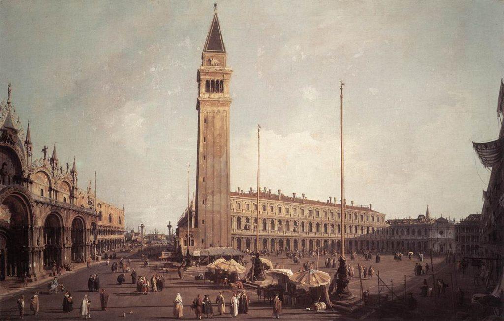 I Pili in Piazza San Marco