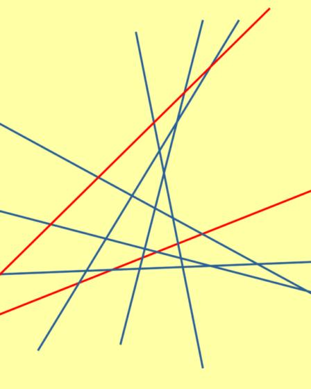 triangoli: caso 8 rette
