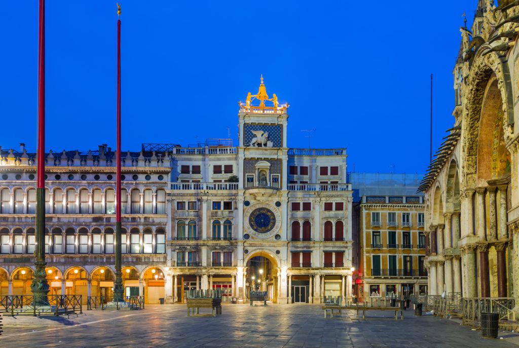 Torre dell'Orologio a Venezia