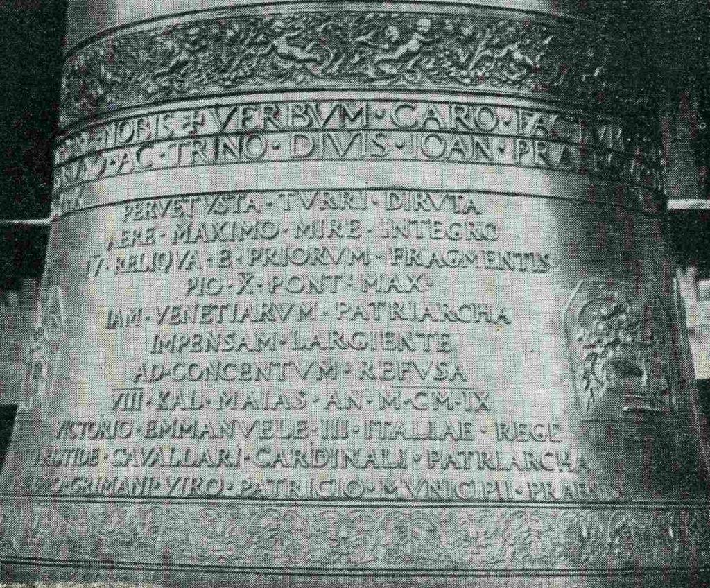 una delle campane di San Marco