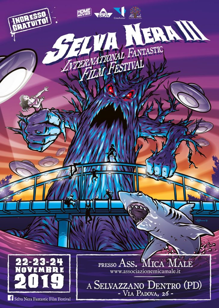 Selva Nera III - Fantastic Film Festival - Locandina