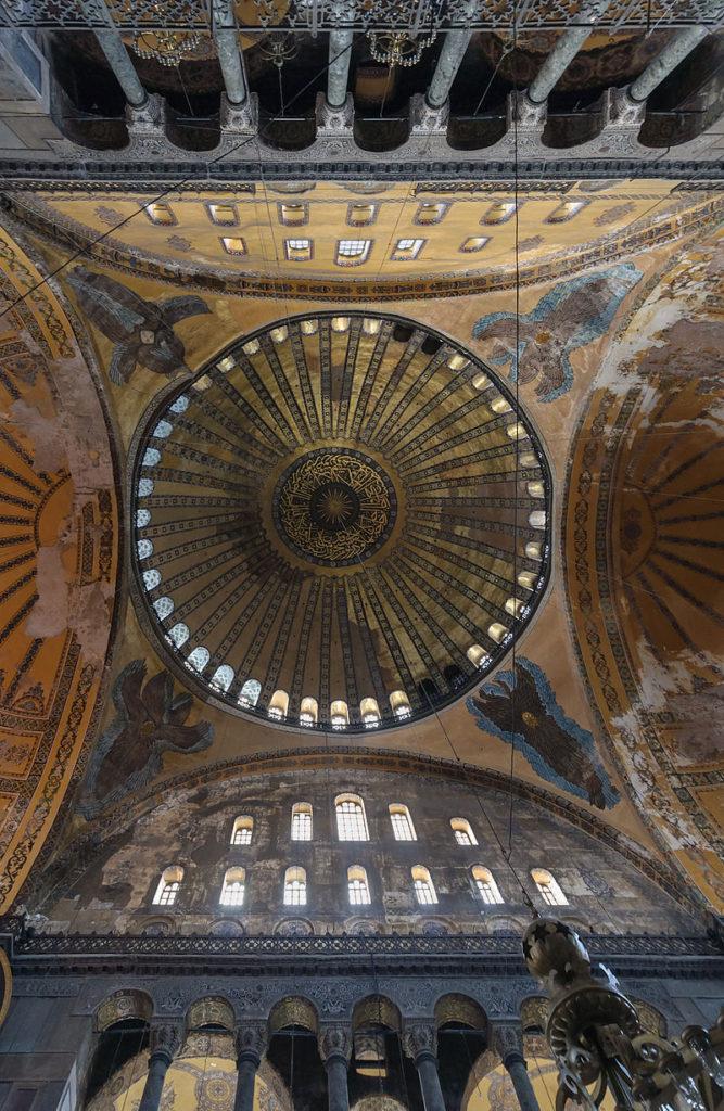 Cupola di Santa Sofia oggi