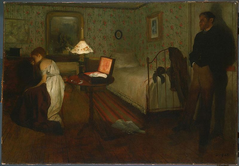 Edgar Degas - Lo stupro - violenza sulle donne
