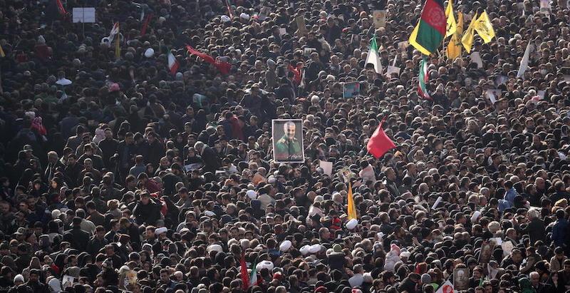 Funerali di Soleimani