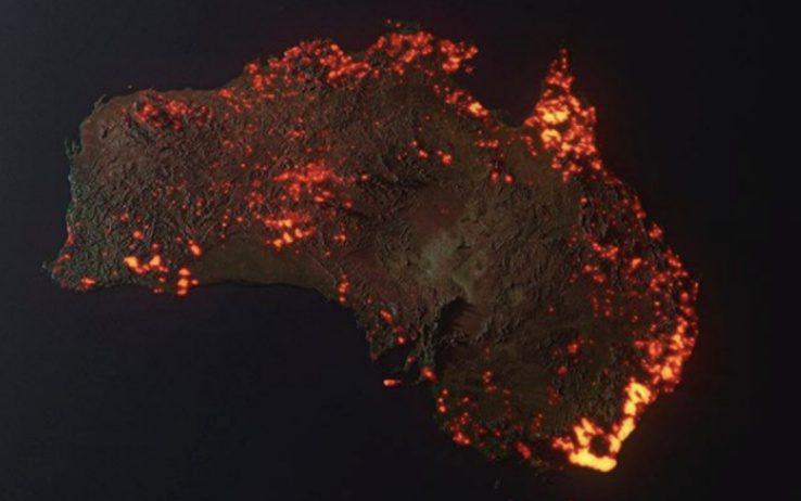 Rendering incendi Australia