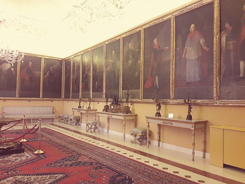 Sala dei Vicerè - Palazzo dei Normanni