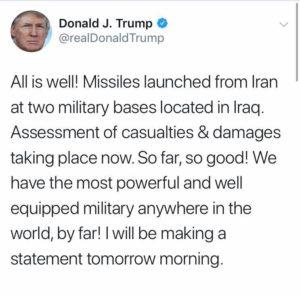 Nuova guerra tra USA e Iran