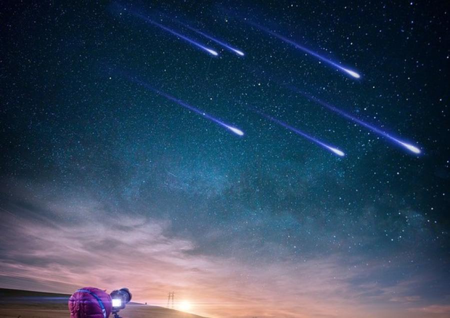 Astronomia 2020: piogge meteoriche