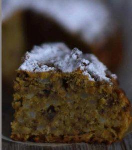 La patata giusta per un dolce: torta di patate dolci con mandorle e cioccolato