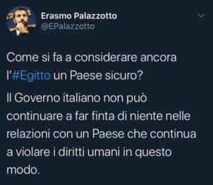 Erasmo Palazzotto - Patrick Zaky