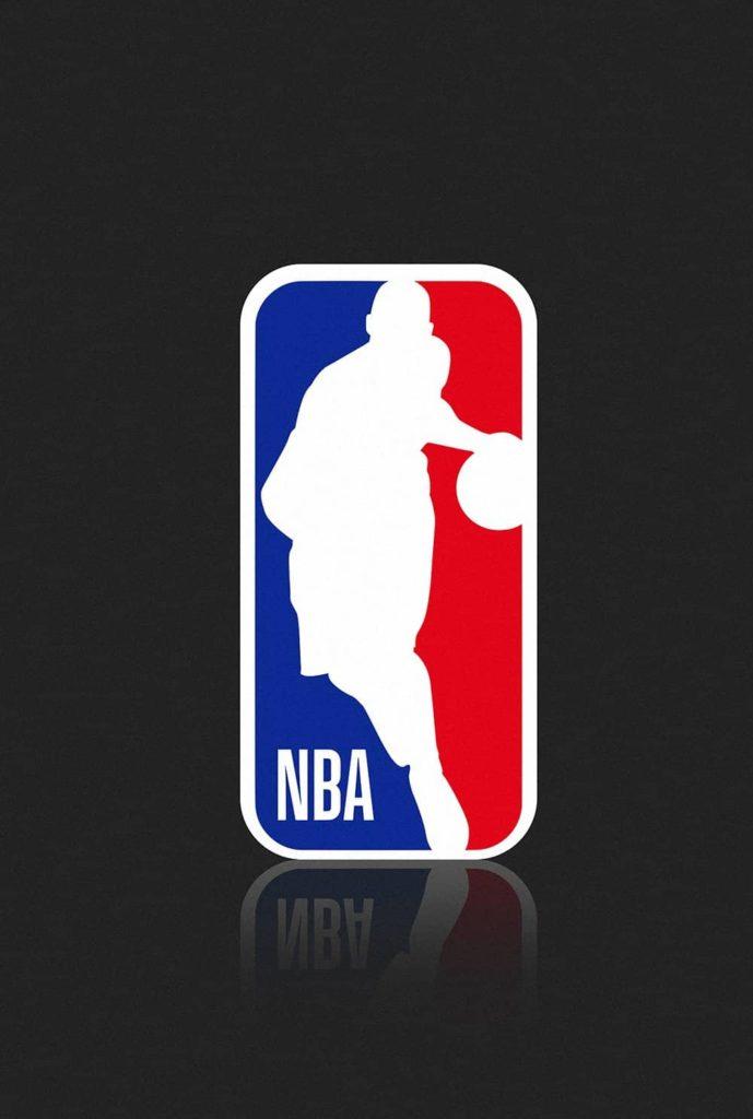 Logo NBA con sagoma di Kobe Bryant
