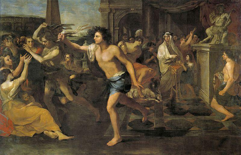 Lupercalia (Andrea Camassei, 1635, Museo del Prado di Madrid)