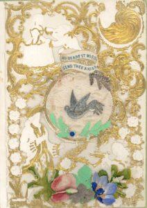Biglietto di San Valentino (Inghilterra, 1860 circa)