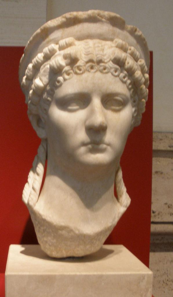Civiltà romana - Busto marmoreo di Poppea Sabina