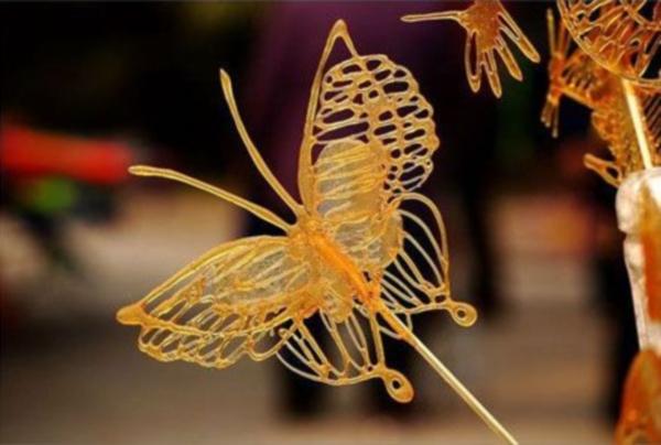糖画: farfalla