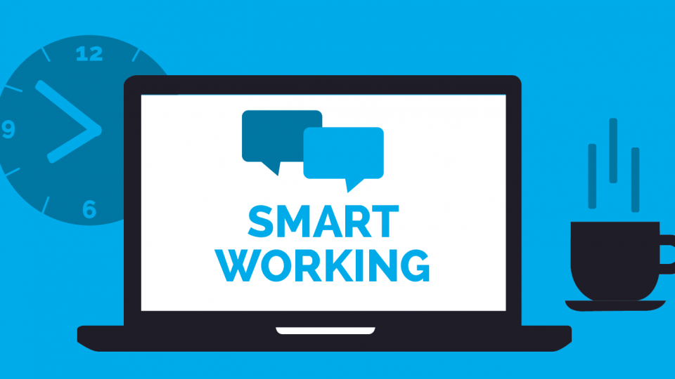 copertina smart working