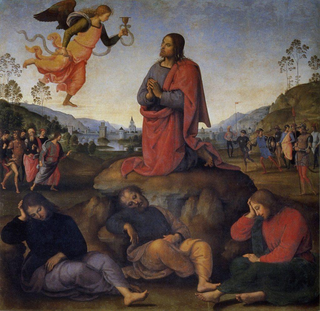 Musei online - Orazione nell'orto, Pietro Perugino, 1495 (Gallerie degli Uffizi, Firenze)